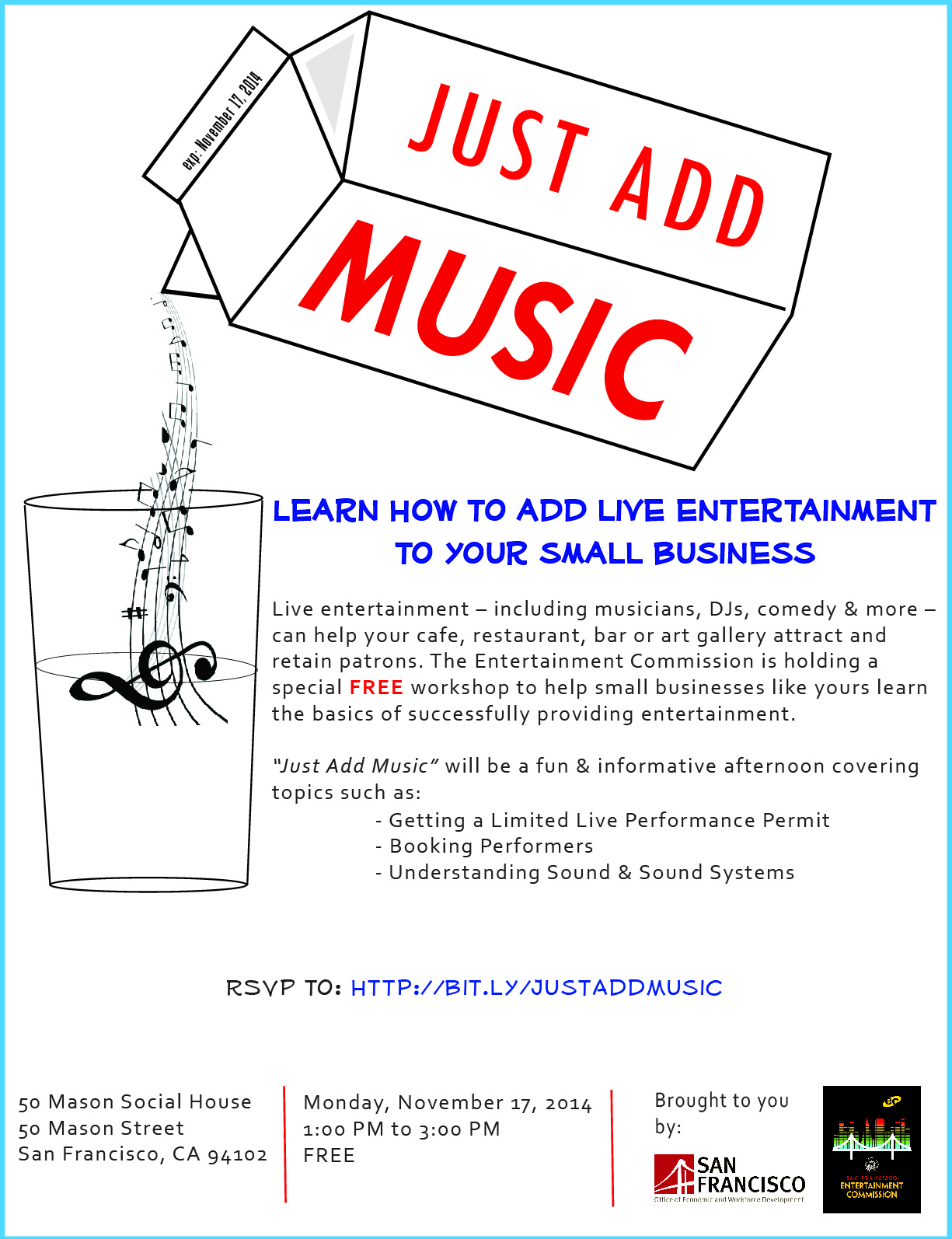 Learn How To Add Live Entertainment To Your Small Business Nightlifesf